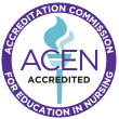 Accredited by the Accreditation Commission for Education in Nursing (ACEN)