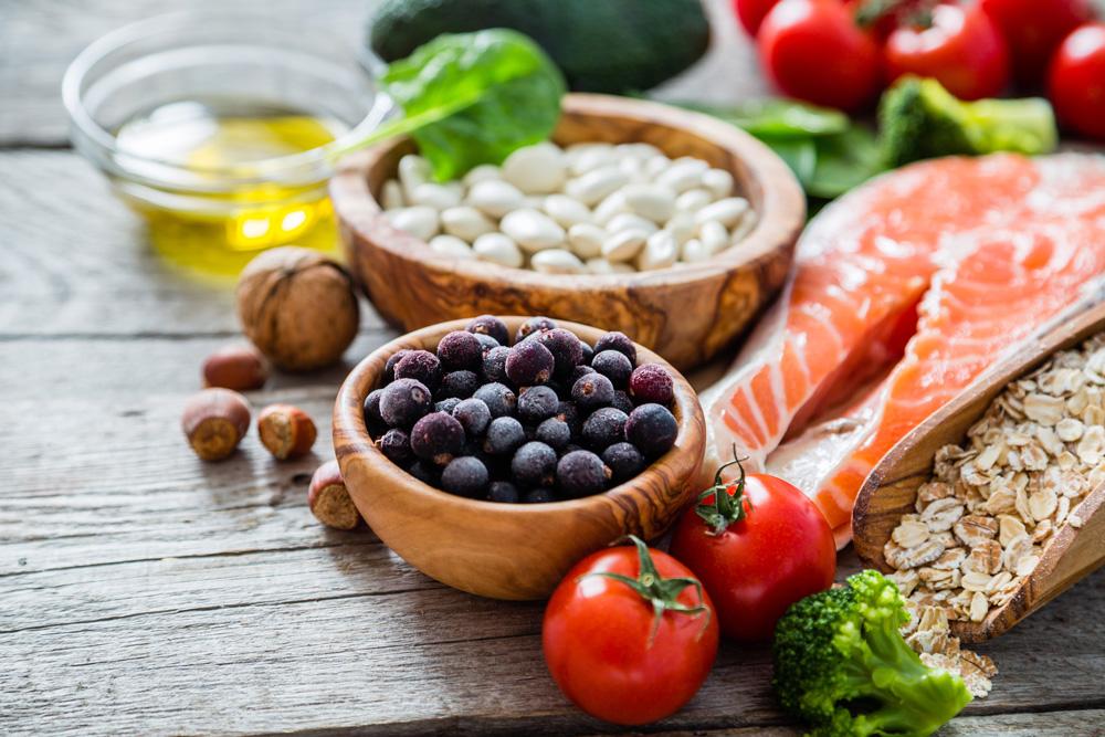 Image of healthy, holistic food