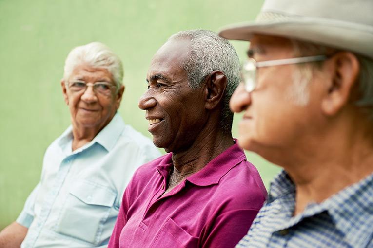 Group of Elderly Men