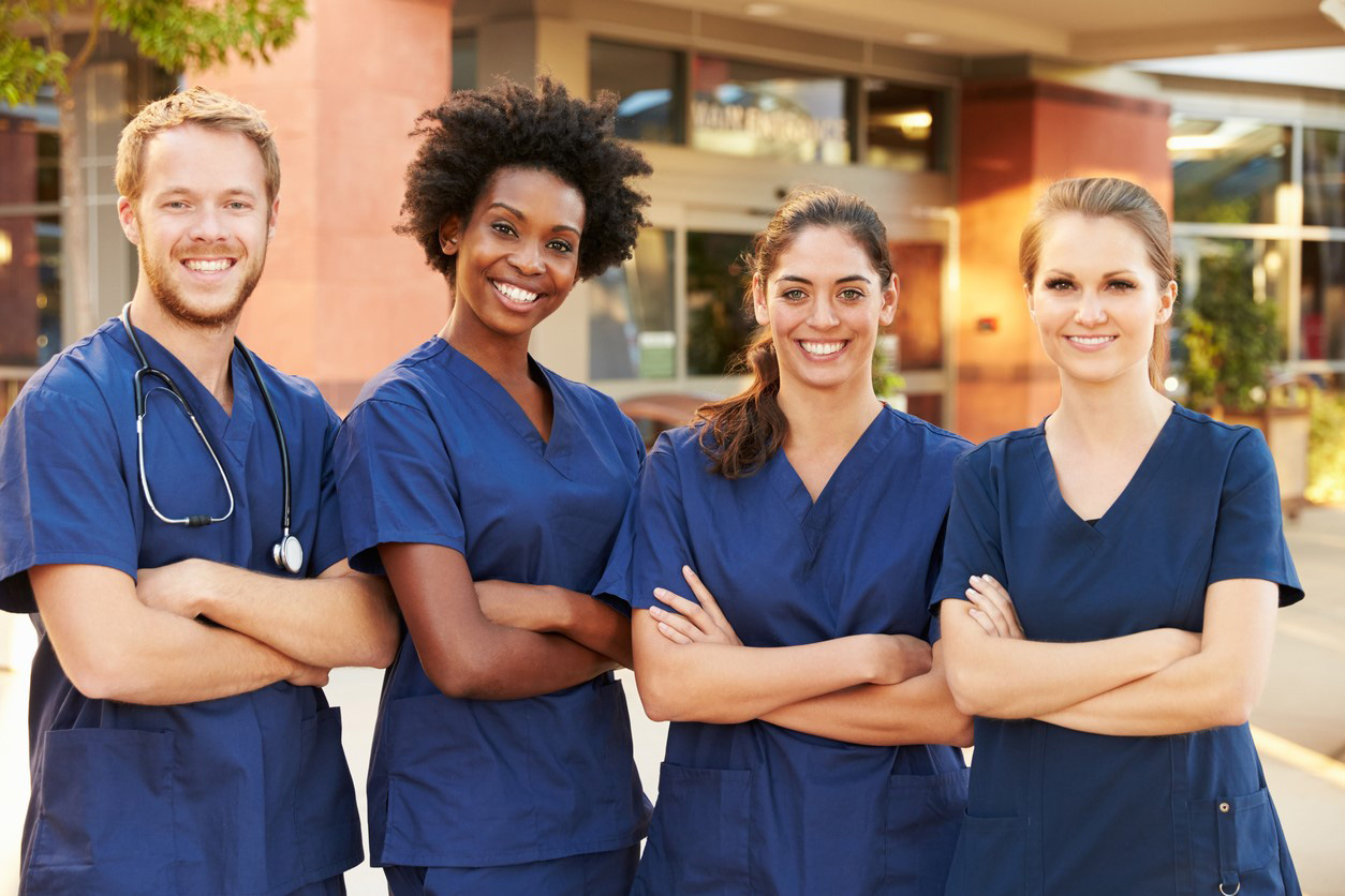group of nurse practitioners