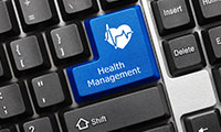 health management and keyboard